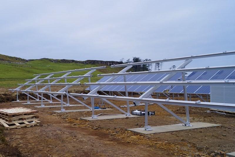 Строительство солнечных электростанций